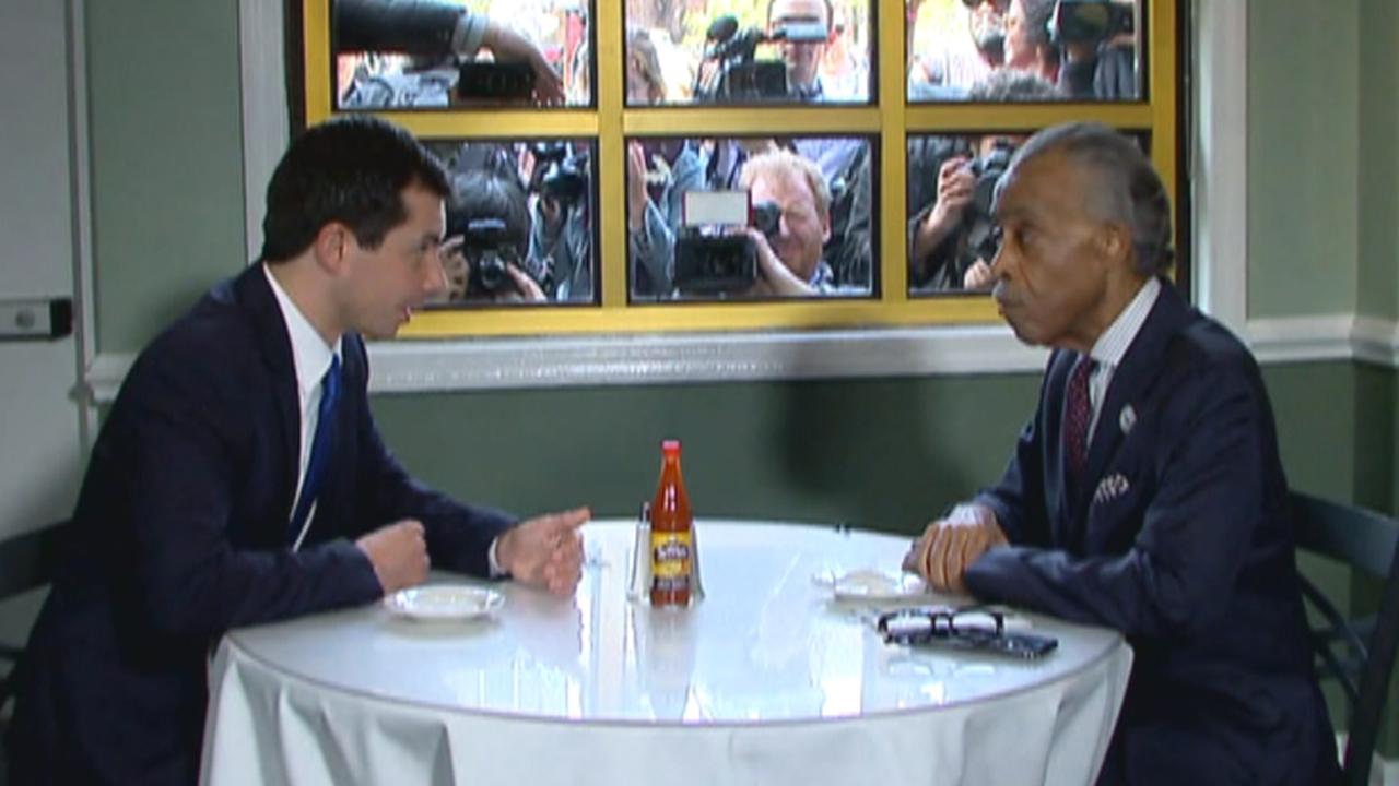 Campaign Trail Mix: Pete Buttigieg dines with Rev. Sharpton; Beto O'Rourke bets on climate change