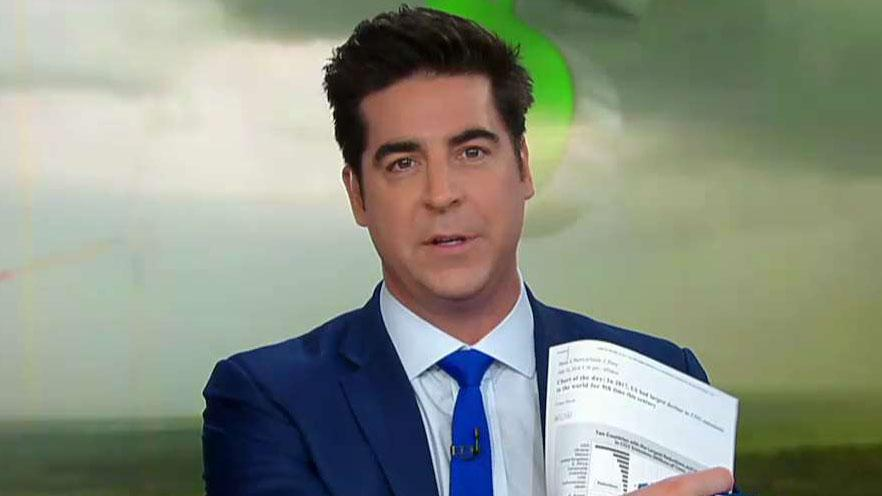 Jesse Watters: Beto O'Rourke feels guilty about the success of the US economy