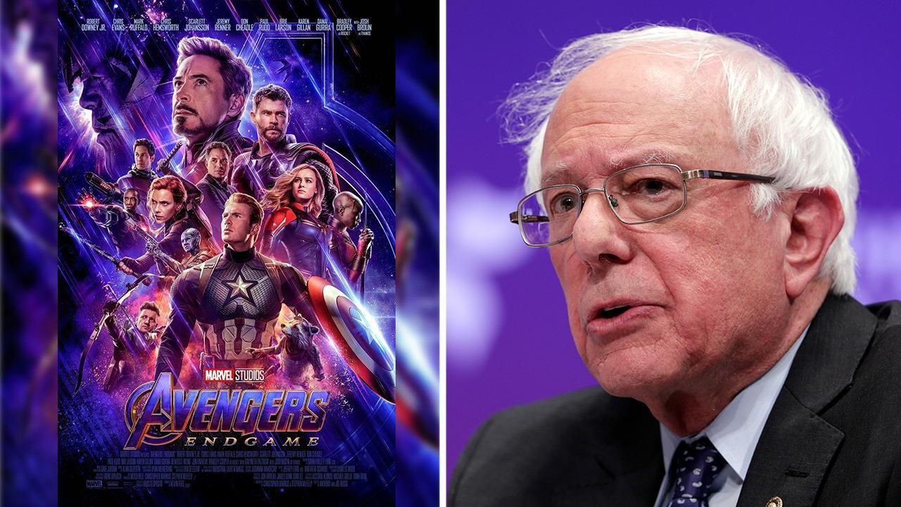 Bernie Sanders wants Disney to spread the wealth from 'Avengers: Endgame'