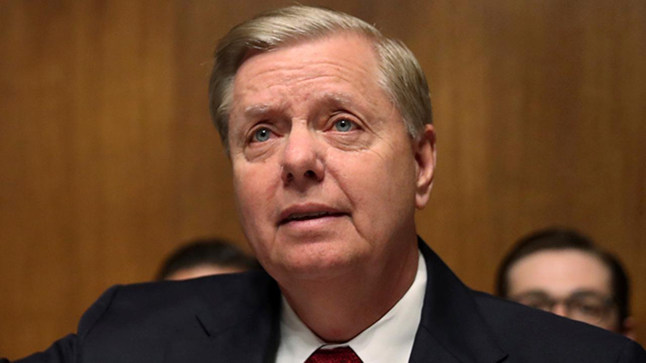Sen. Graham reads uncensored Strzok-Page texts on Trump during Barr hearing