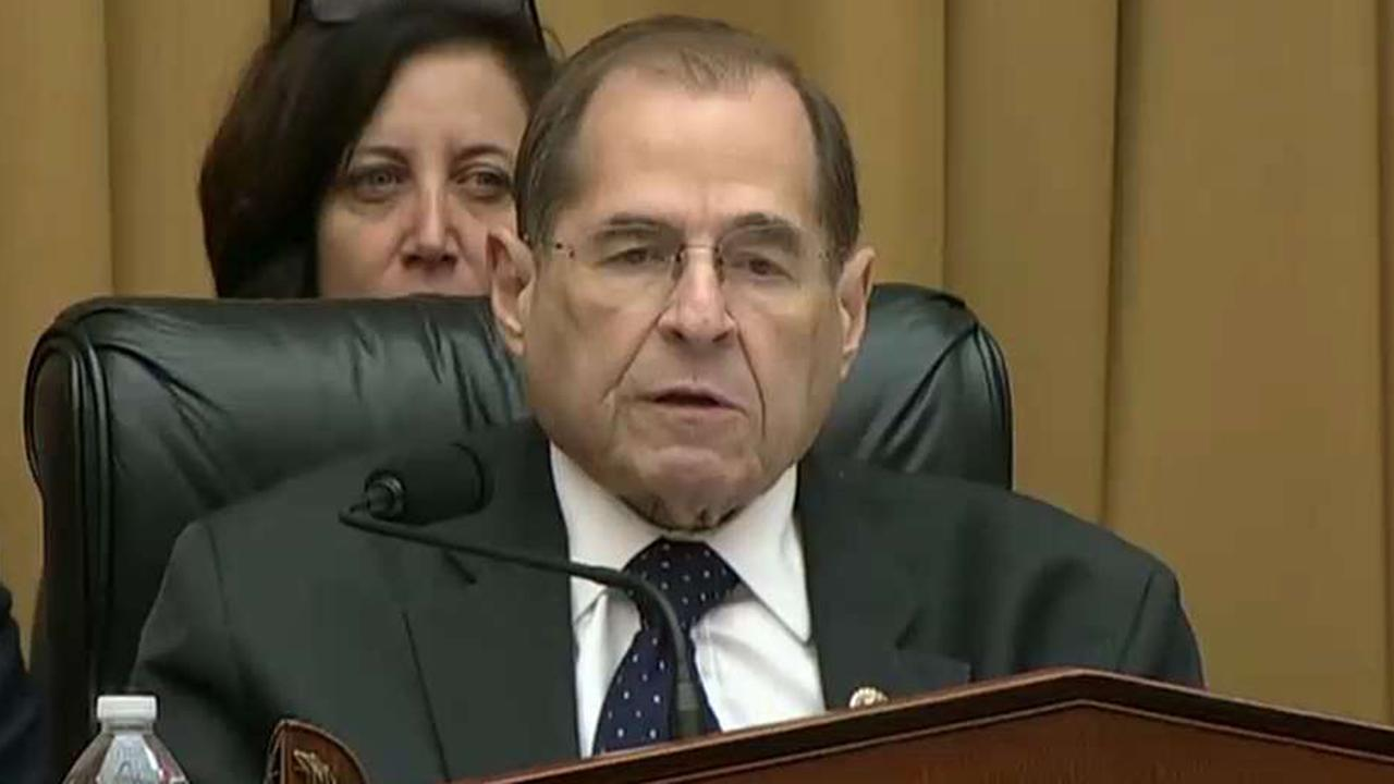 Jerry Nadler threatens contempt citation after Attorney General Bill Barr skips House hearing