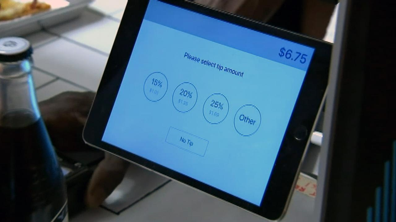 New tech sparks old debate over whether to tip for takeout
