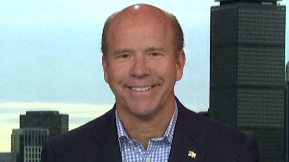 Presidential candidate John Delaney on challenge of running against Trump economy