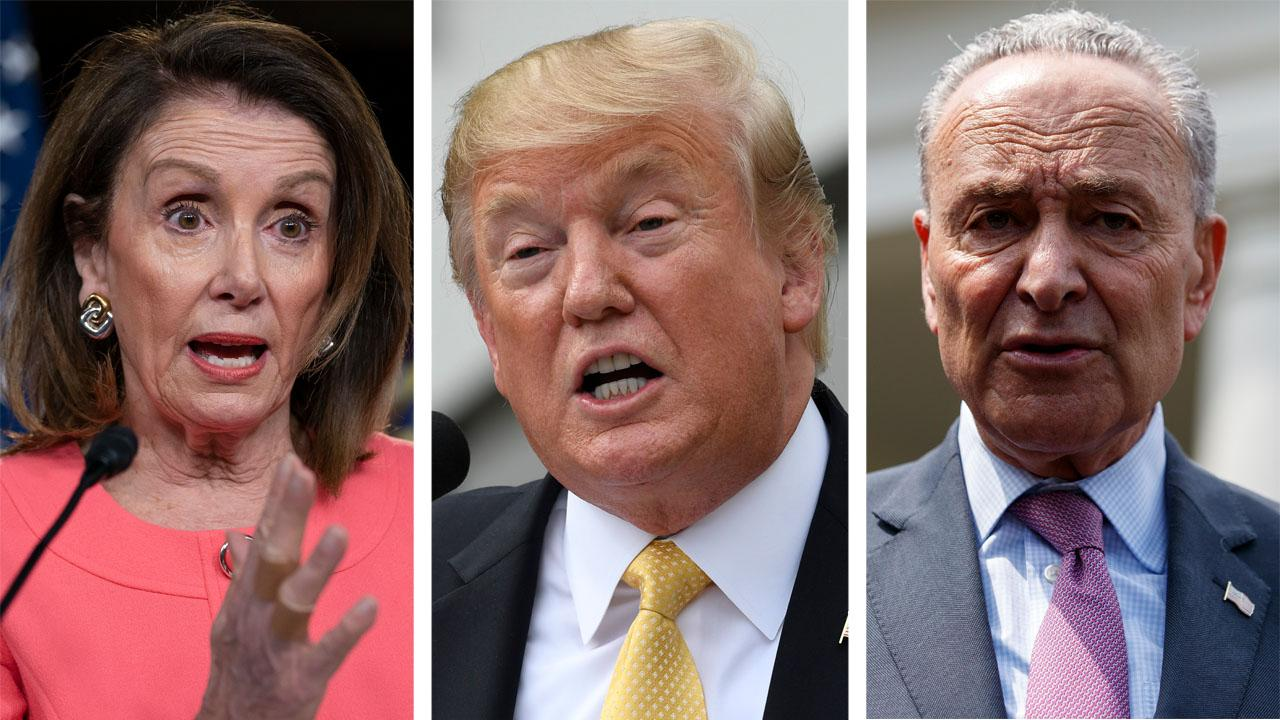 Trump, Schumer and Pelosi reach $2 trillion infrastructure agreement