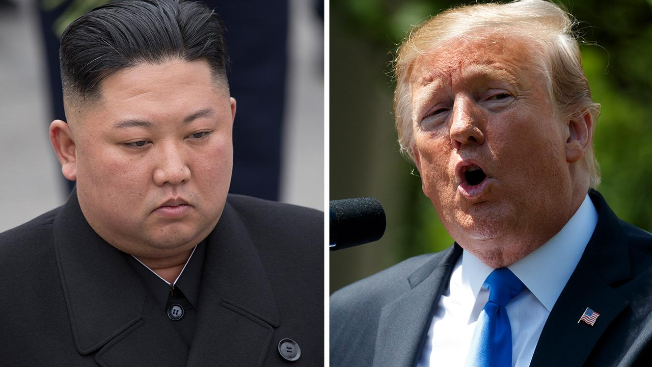 President Trump tweets 'deal will happen' after North Korea test fires short-range projectiles
