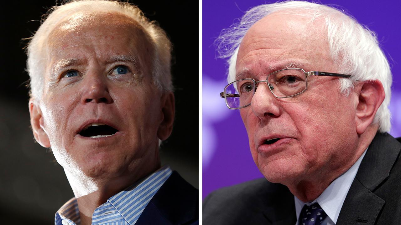 Bernie Sanders slams Biden's voting record
