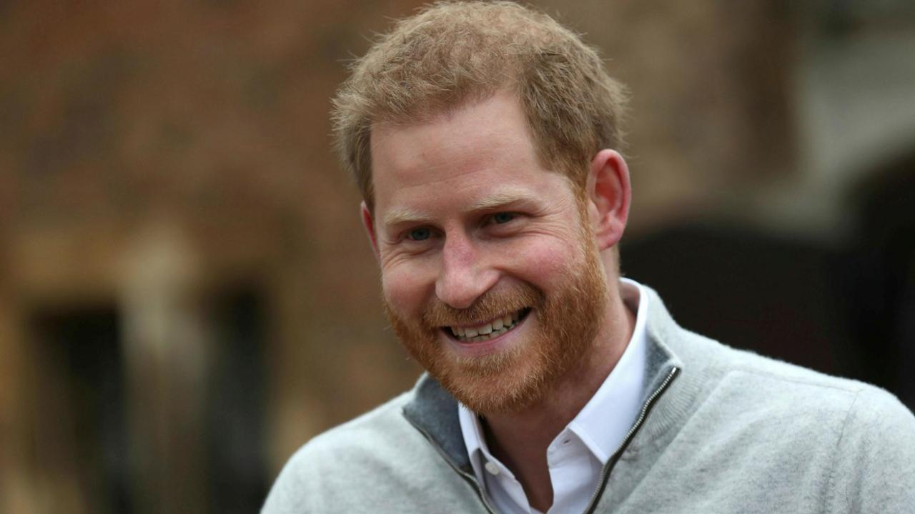 Beaming Prince Harry announces birth of baby boy with wife Meghan Markle