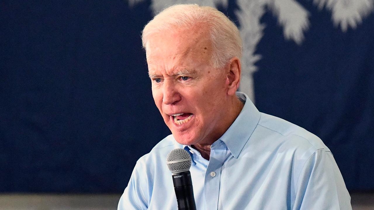 Biden wades into nickname conflict with Trump, calls boss a 'clown'