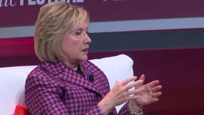 Hillary Clinton claims presidential election was 'stolen' from her