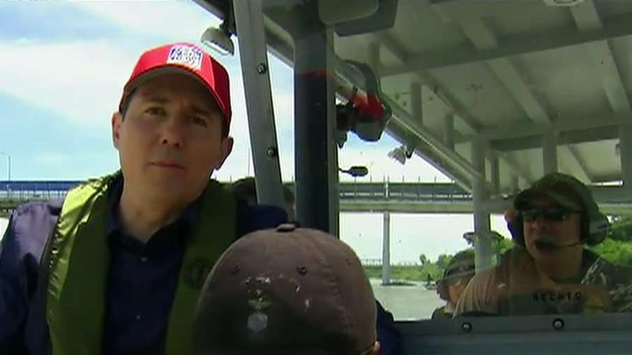 Raymond Arroyo joins border agents rescuing migrants from the Rio Grande