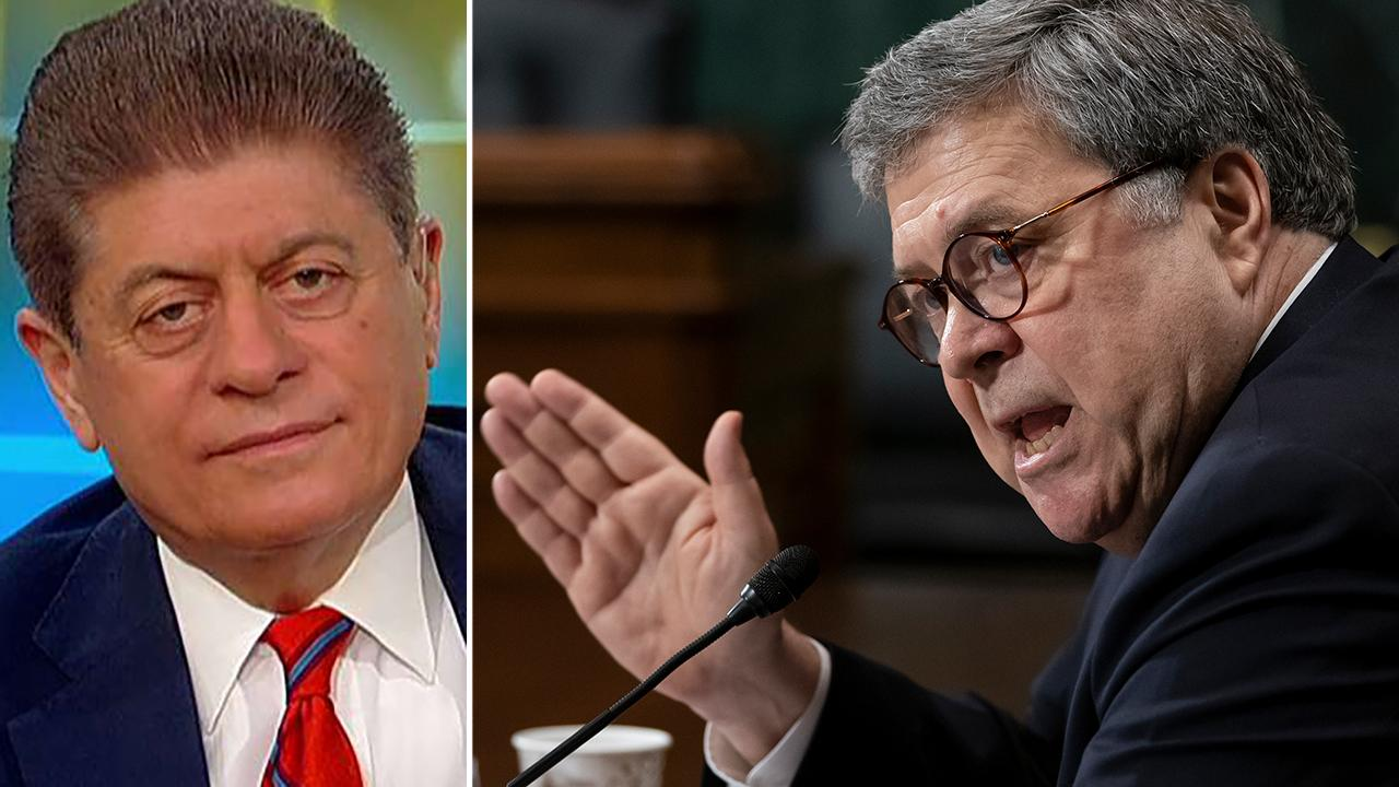 Westlake Legal Group 694940094001_6033723080001_6033728902001-vs Judge Napolitano: Dem threats of jailing Barr are 'absurd', contempt warning used as 'political weapon' Lukas Mikelionis fox-news/topic/fox-news-flash fox-news/shows/fox-friends fox-news/person/william-barr fox-news/news-events/russia-investigation fox news fnc/politics fnc e151c573-23d2-5885-a69c-c5a173d3a178 article