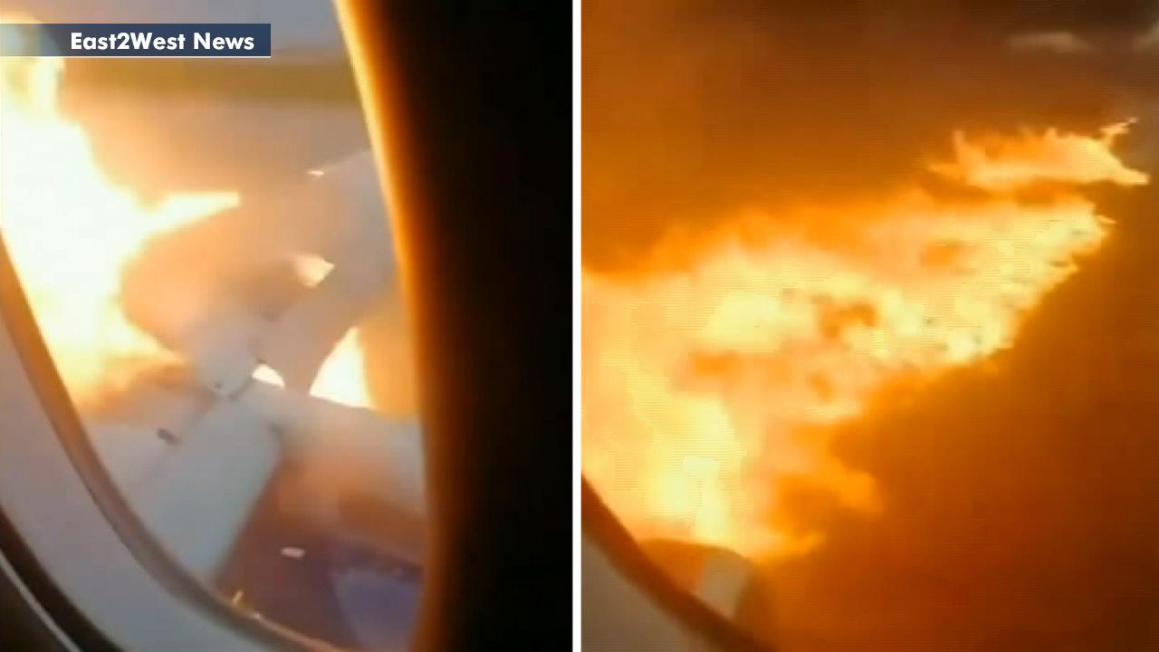 Warning, graphic video: Terrifying footage inside deadly Moscow plane crash landing