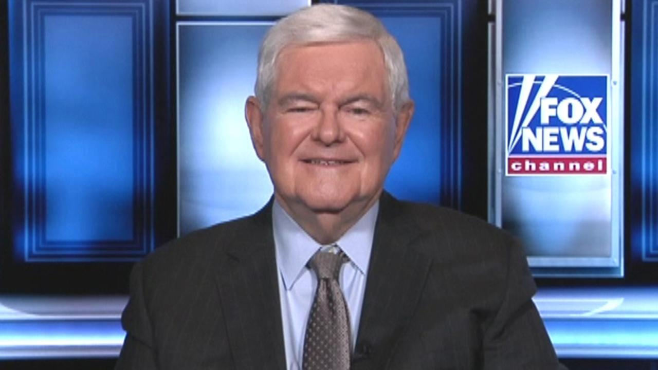 Gingrich: New York Times has descended to the level of the Kardashians with reveal of Trump tax records