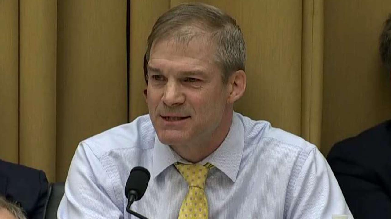 Rep. Jim Jordan: House Democrats are trying to destroy Attorney General William Barr