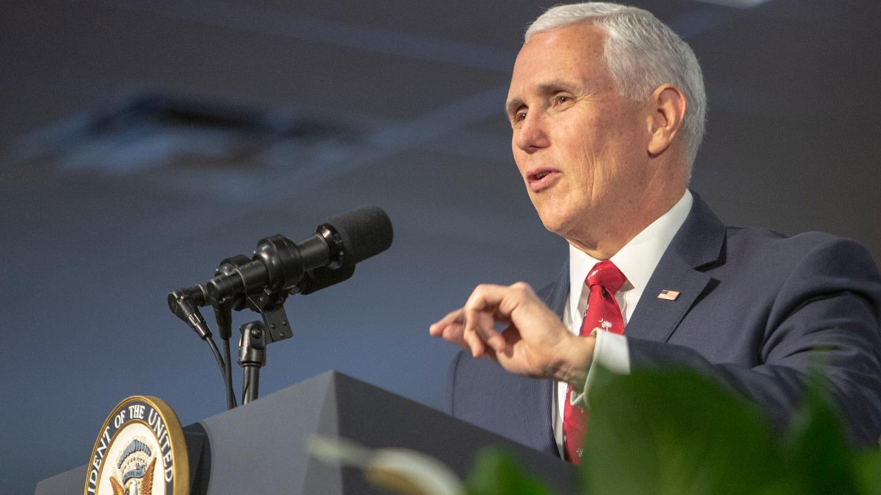Pence speaks at the Federalist Society Annual Executive Branch Review Conference