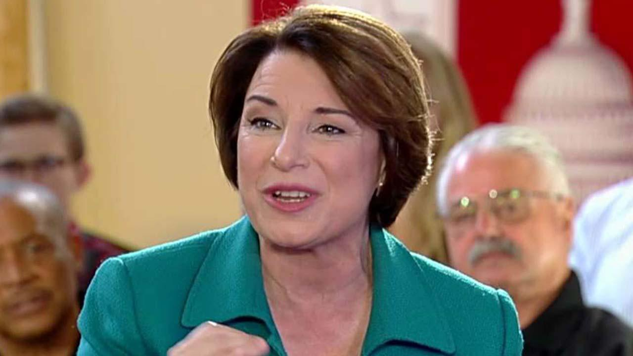 Amy Klobuchar: Everyone in this country should see health care as a right
