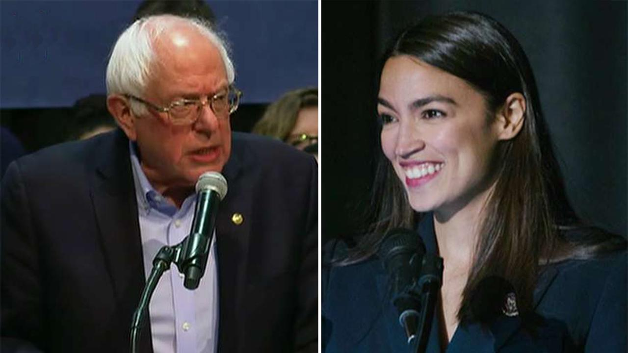 Bernie Sanders, Alexandria Ocasio-Cortez team up to take on Wall Street 'greed'
