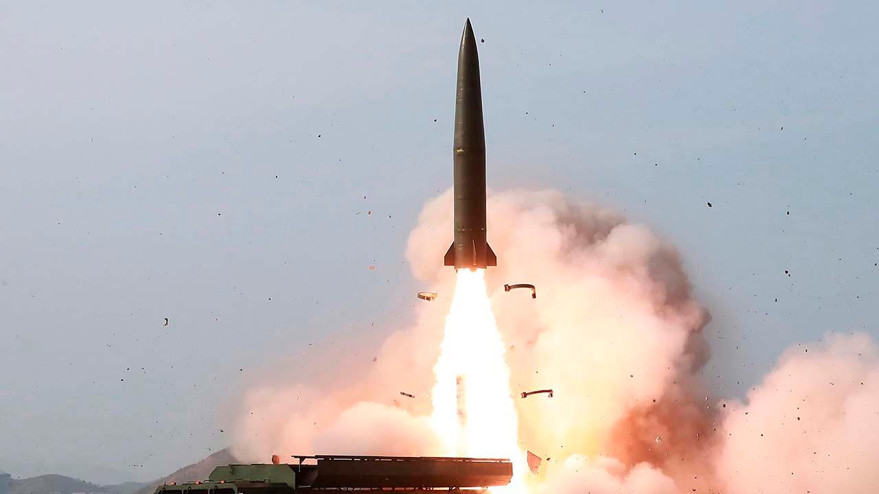 North Korea launches two suspected short-range missiles