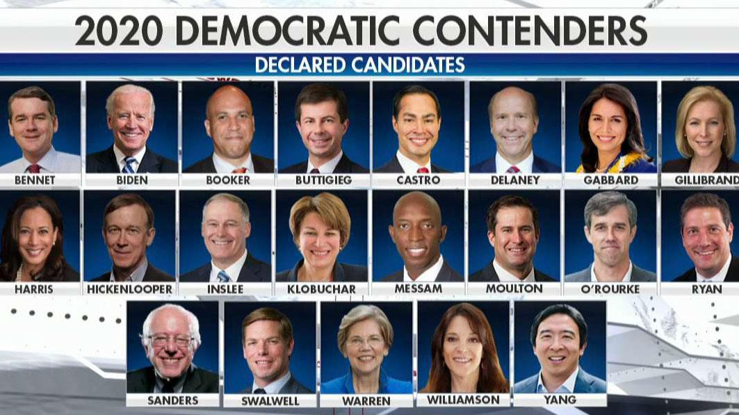 2020 Democrats take on the economy