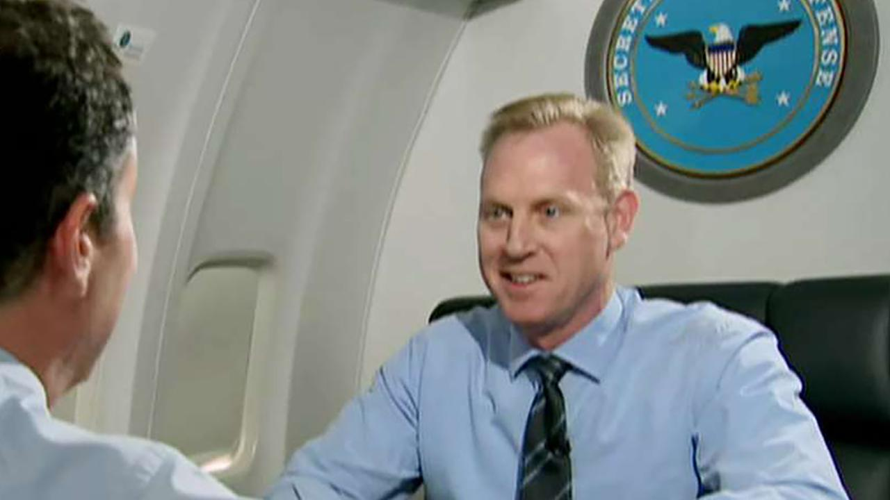 Exclusive: Acting Defense Secretary Patrick Shanahan talks securing the border, handling North Korea and China
