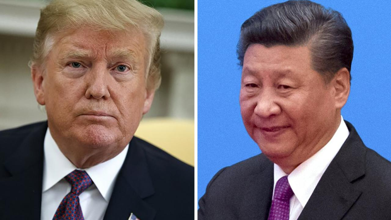 President Trump stands his ground in trade standoff with China