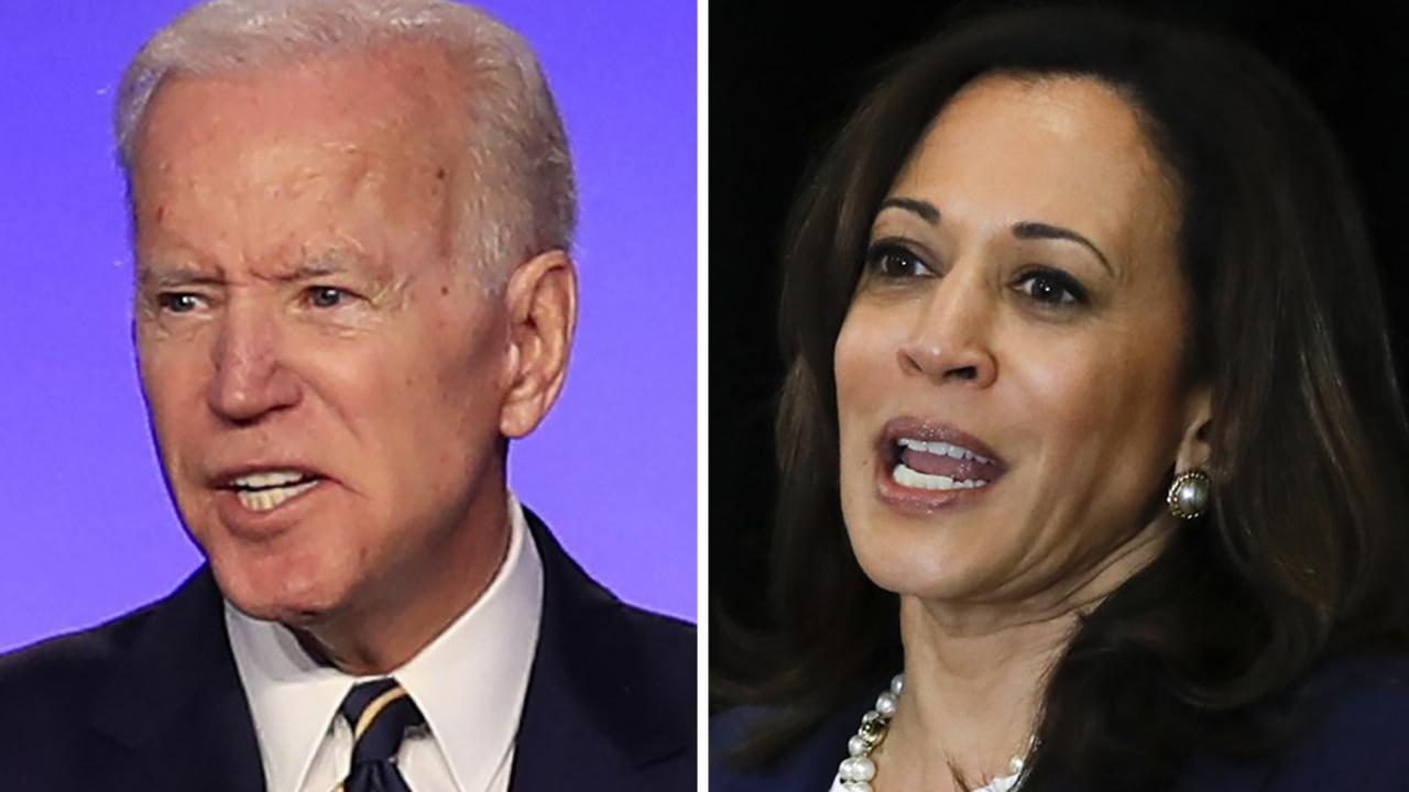 Is the Democrats' best chance at beating Trump in 2020 Joe Biden and Kamala Harris?