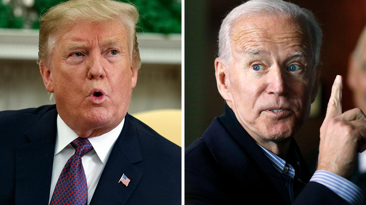 New poll shows Trump, Biden close in key battleground states