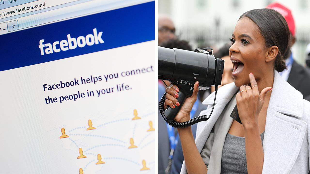 [Tvt News]Facebook temporarily suspends Candace Owens over post about 'liberal supremacy'
