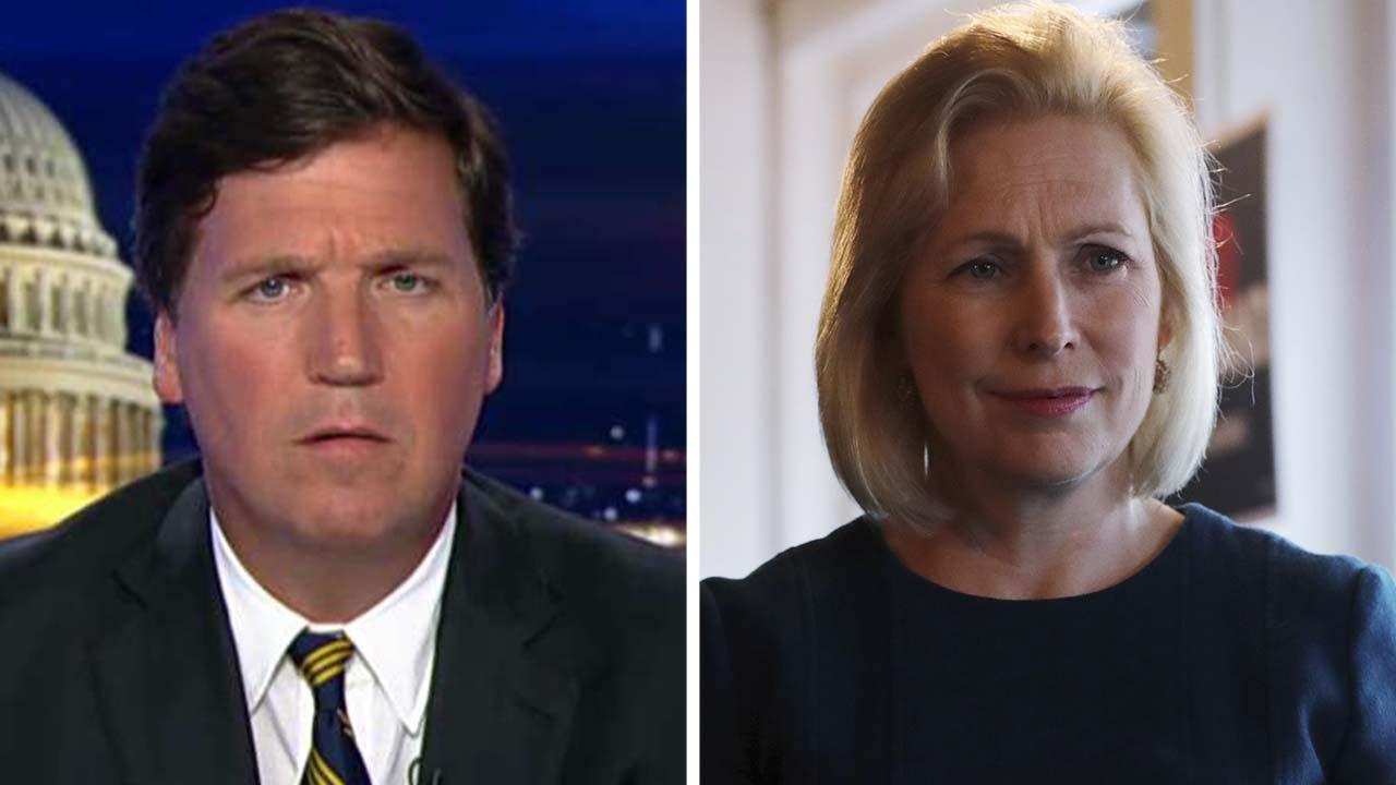 Westlake Legal Group 694940094001_6039121813001_6039119201001-vs Tucker Carlson: Kirsten Gillibrand and the left don't believe Americans deserve their country Tucker Carlson fox-news/us/immigration/illegal-immigrants fox-news/us/immigration fox-news/shows/tucker-carlson-tonight/transcript/tuckers-monologue fox-news/politics/2020-presidential-election fox-news/person/kirsten-gillibrand fox-news/opinion fox news fnc/opinion fnc article 18099934-9753-57a2-9205-afd26e82e9b1