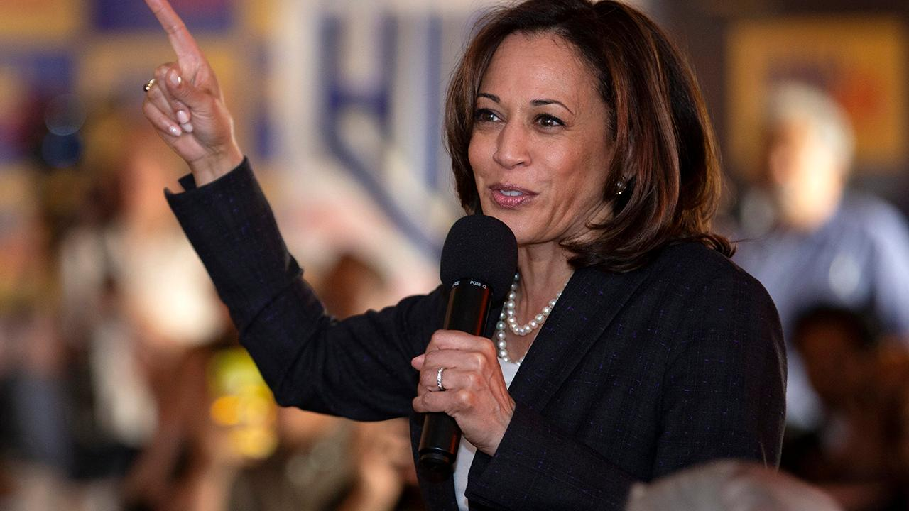 Westlake Legal Group 694940094001_6039284251001_6039282367001-vs Kamala Harris' 2020 bid seems to fade as other Democrats bypass her Lukas Mikelionis fox-news/politics/senate fox-news/politics/2020-presidential-election fox-news/person/kamala-harris fox news fnc/politics fnc article 897fcb18-7c27-5186-aaa0-bd9656337569