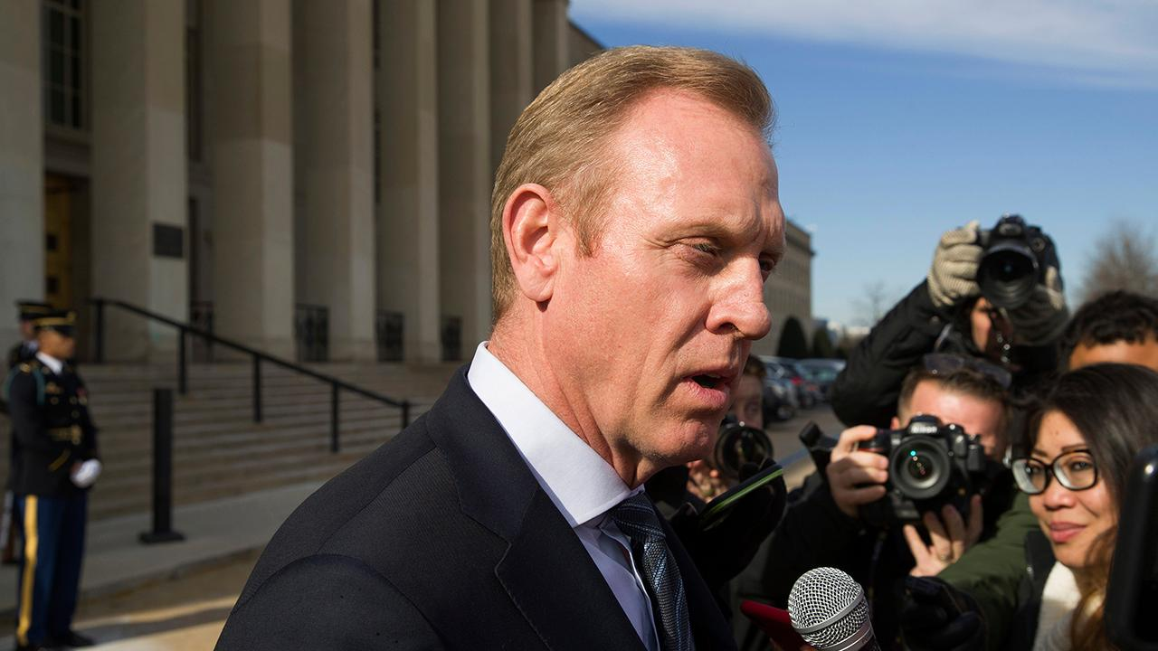 Acting Defense Secretary Patrick Shanahan says US forces might have helped decrease the threat from Iran