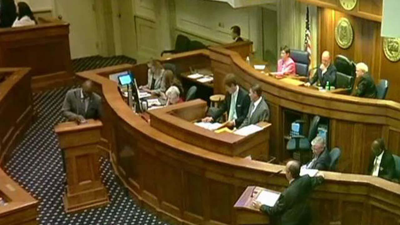 Heated debate on Alabama Senate floor sparked by abortion bill