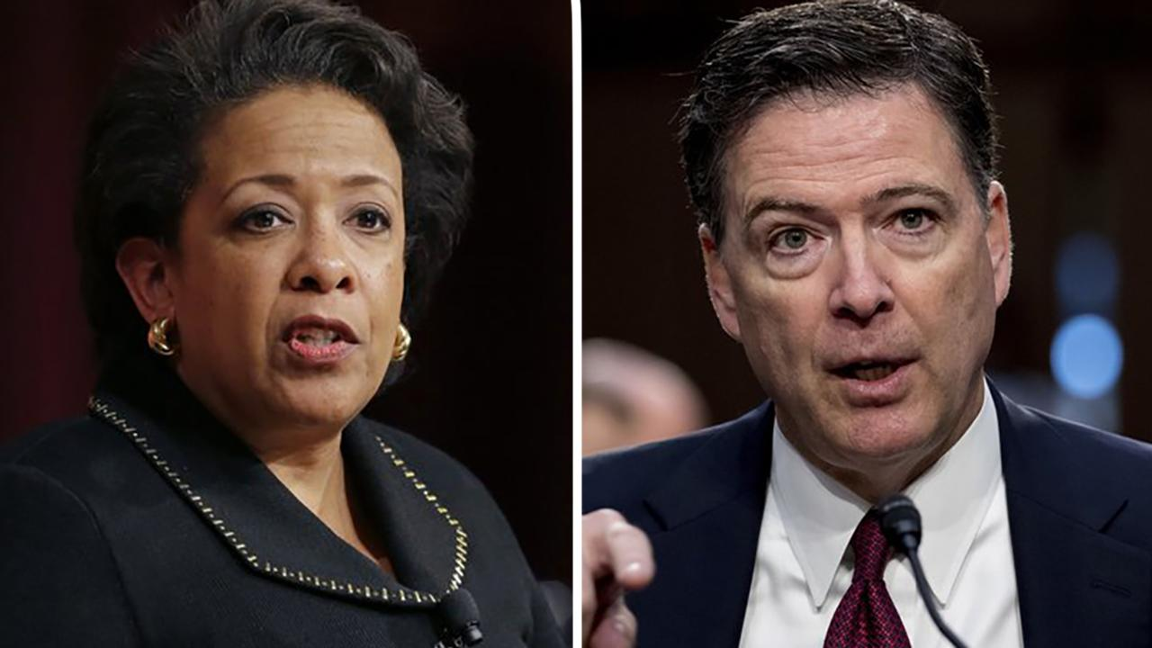 Transcripts from Loretta Lynch's congressional interview sparks blame game