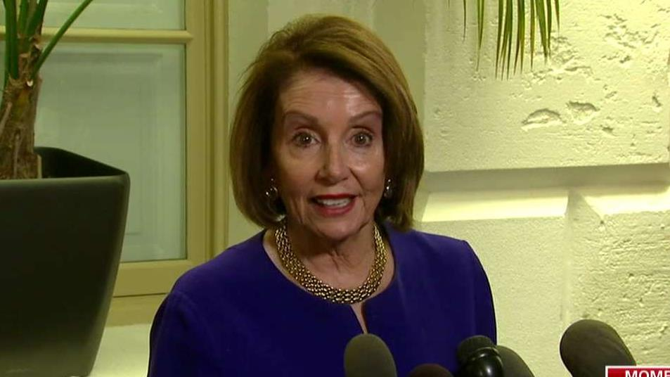 Pelosi says Democrats believe Trump is 'engaged in a cover-up'