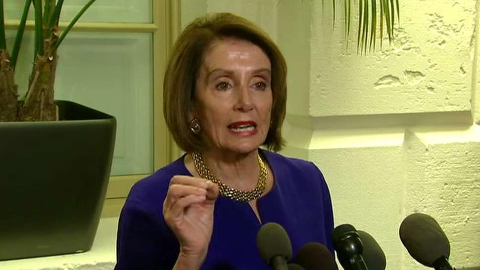 House Speaker Nancy Pelosi says Trump is involved in a 'cover-up'