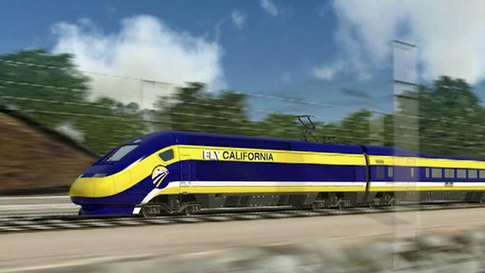 California sues over $1 billion in federal funds for high-speed rail project