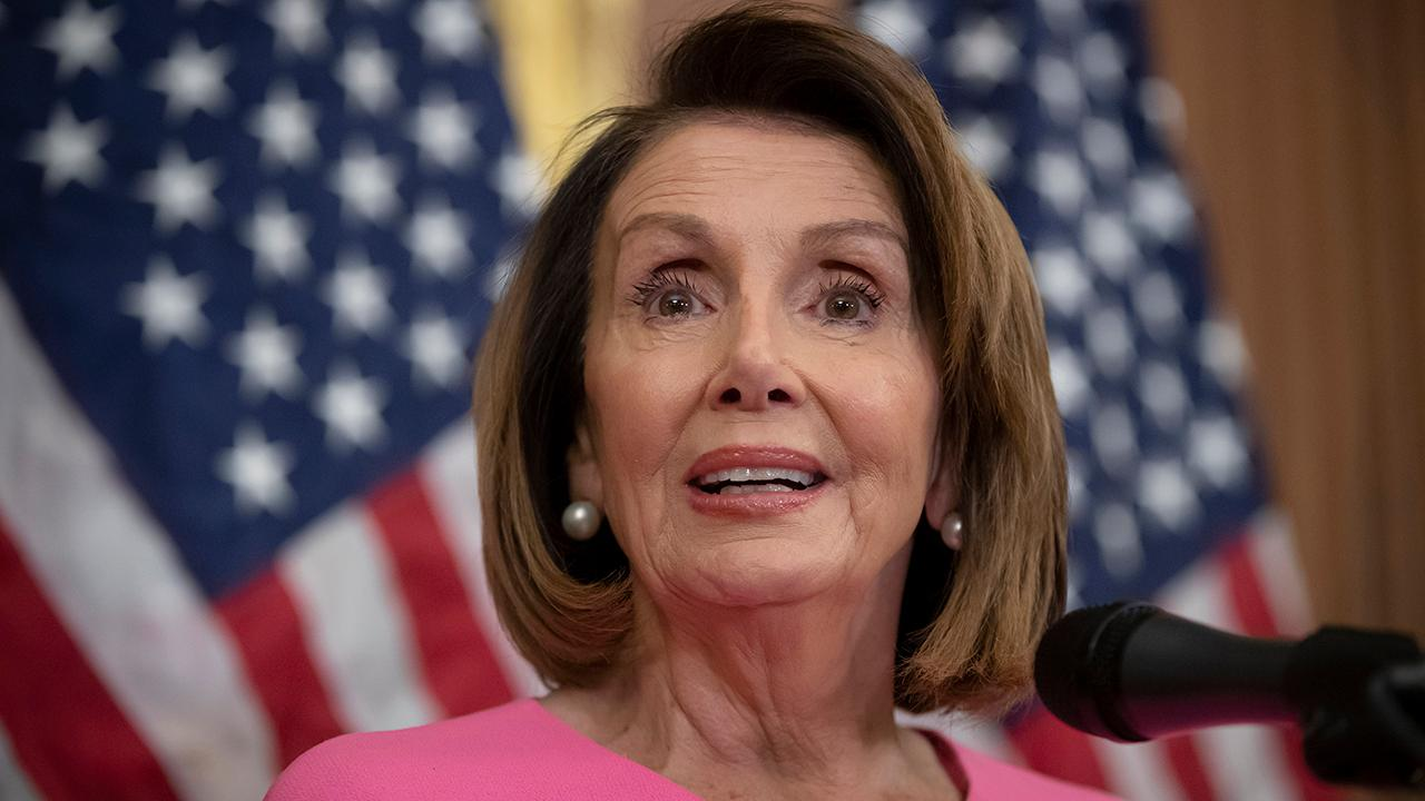 Nancy Pelosi says she believes Trump in engaged in a cover-up