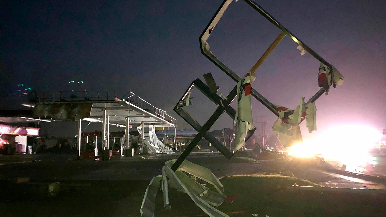 Violent tornadoes tear through Missouri