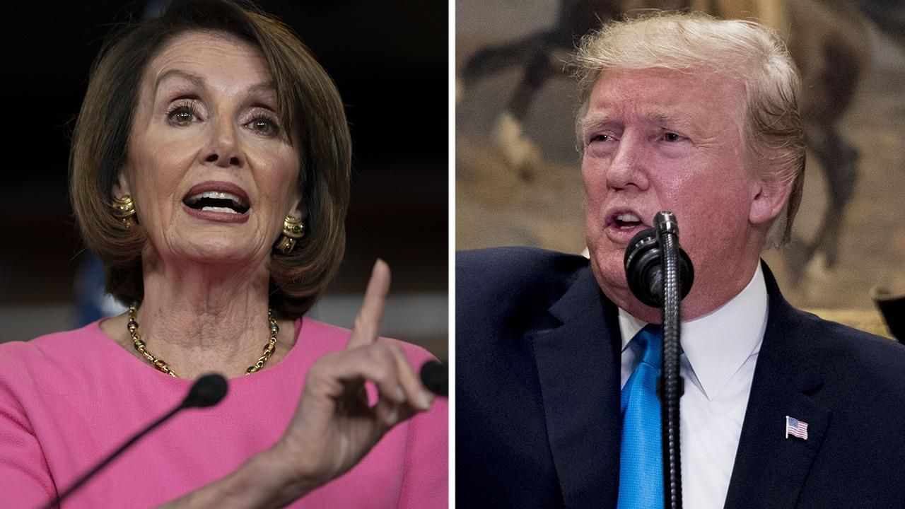 Tensions escalate between Trump and Democrats as Pelosi doubles down on 'cover-up' accusation