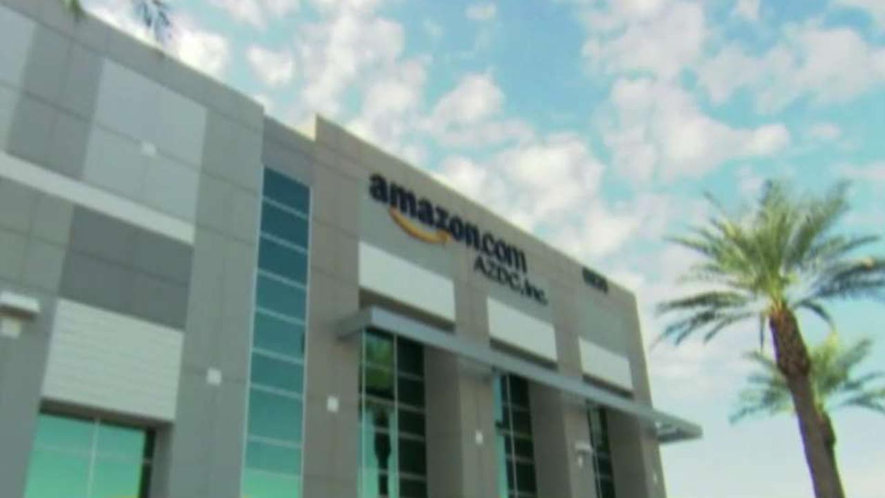 2020 Democratic presidential candidates target Amazon