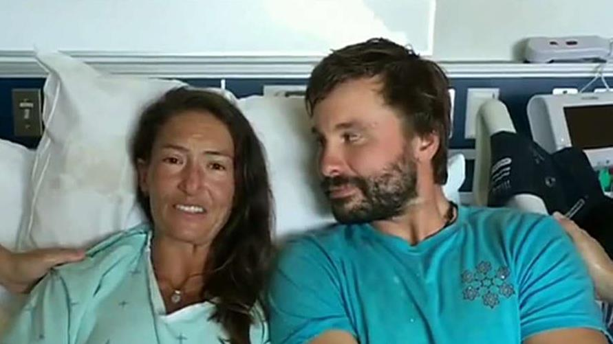 Hiker rescued in Hawaii after 17 days missing speaks from the hospital.