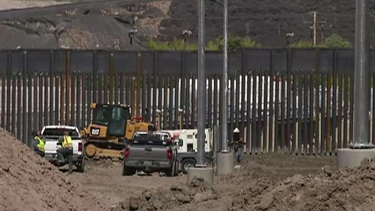 Group uses private donations to build border wall section in El Paso, Texas