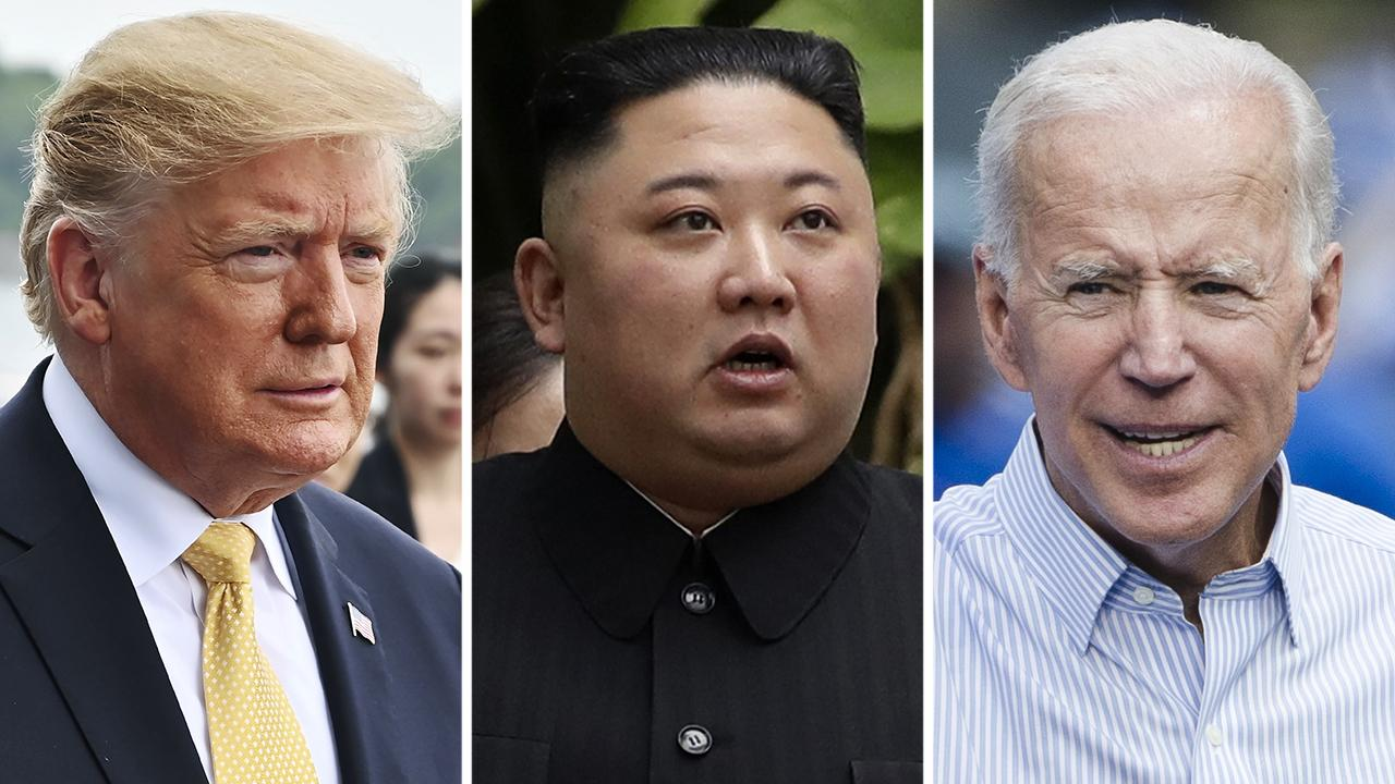 Conservatives balk as President Trump agrees with Kim Jong Un's criticism of Joe Biden