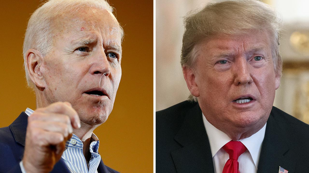 Trump criticized for attacking Biden while overseas on Memorial Day weekend