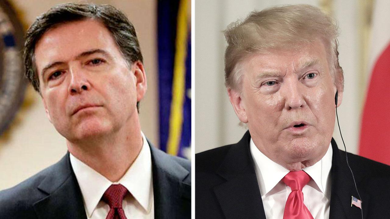 Comey blasts Trump for 'lies' about treason, coup