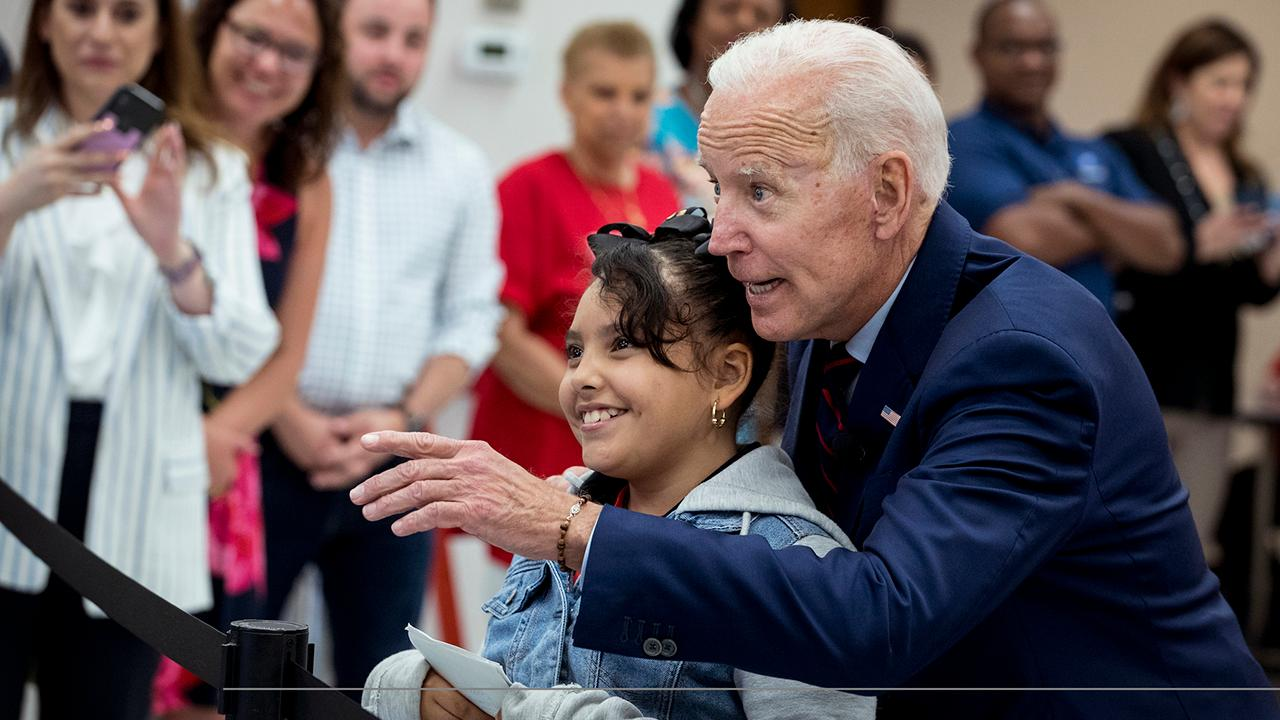Joe Biden has misstep after promising to respect personal space