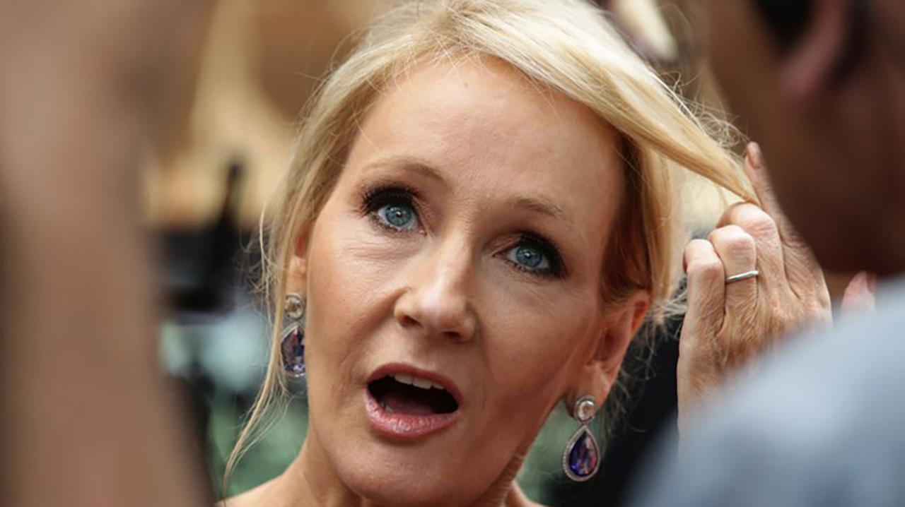 JK Rowling hints at 'Harry Potter and the Cursed Child