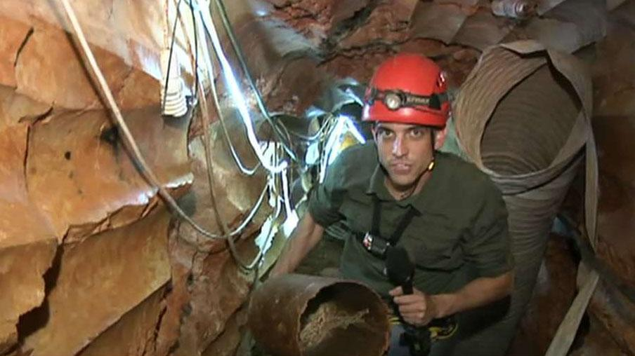 Fox News tours Hezbollah tunnel to Israel