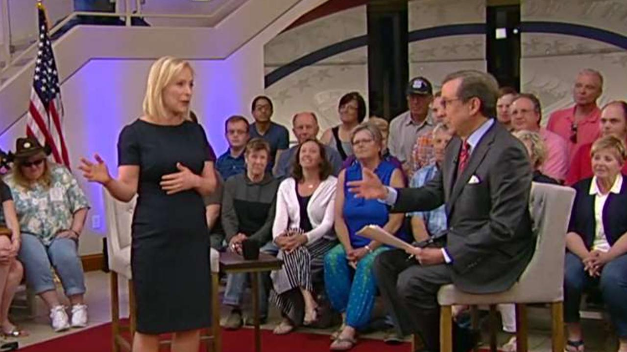 Chris Wallace pushes back against Sen. Kirsten Gillibrand's criticism of Fox News