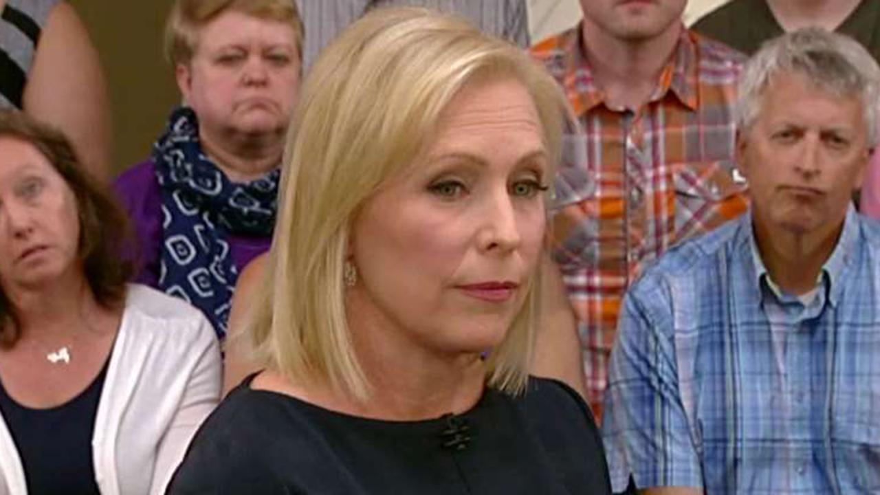 Sen. Kirsten Gillibrand defends calling for Sen. Al Franken's resignation